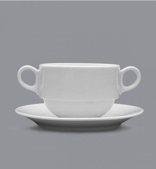 LUBIANA WERSAL Bulionówka 320 ml + spodek / porcelana