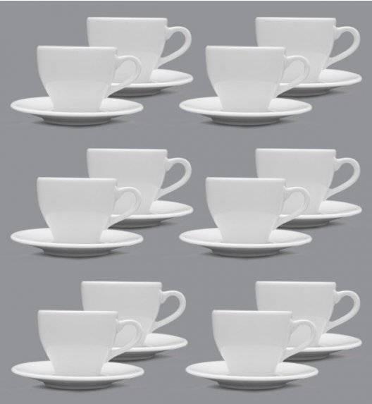 LUBIANA PAULA Filiżanka 200 ml + spodek 14 cm / 12 os / 24 el / porcelana