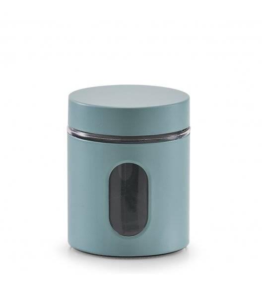 ZELLER Pojemnik do przechowywania 600 ml / niebieski / stal nierdzewna