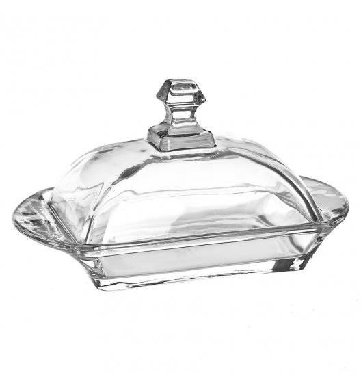 TADAR Szklana Maselnica z pokrywką / 17,5 x 10,5 cm