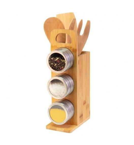 WESTMARK Zestaw 3 pojemników na przyprawy z magnetycznym stojakiem
