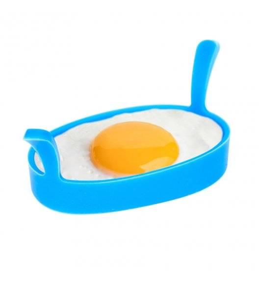 TADAR SILICO Silikonowa forma do jajek sadzonych i placków / 4 sztuki / mix kolorów