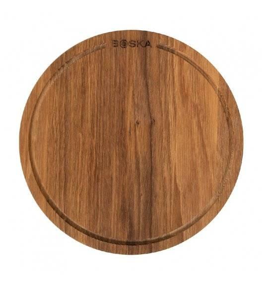BOSKA FRIENDS Deska do pizzy Ø 24 cm S / drewno dębowe / LENA
