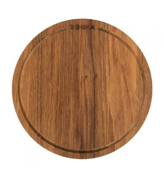 BOSKA FRIENDS Deska do pizzy Ø 29 cm M / drewno dębowe / LENA