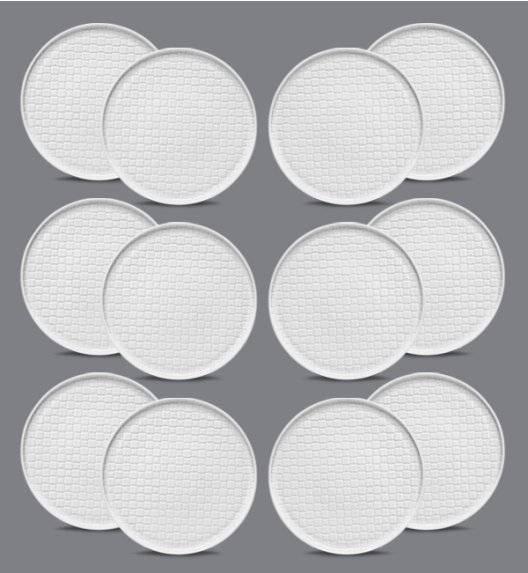 LUBIANA MARRAKESZ Komplet talerz obiadowy 26 cm / 12 os / 12 el / porcelana