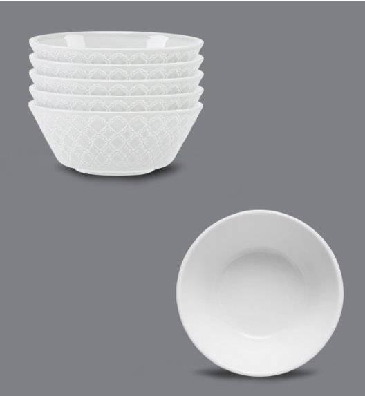 LUBIANA MARRAKESZ Komplet 6 x salaterka 15 cm / biały / porcelana
