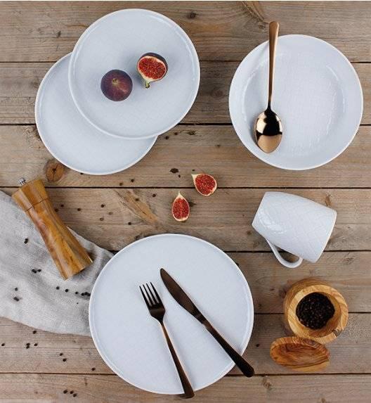 LUBIANA MARRAKESZ Komplet obiadowy 6 os 24 el / okrągły / porcelana