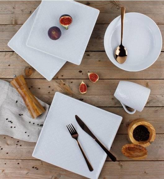 LUBIANA MARRAKESZ Komplet obiadowy 6 os 24 el / kwadratowy / porcelana