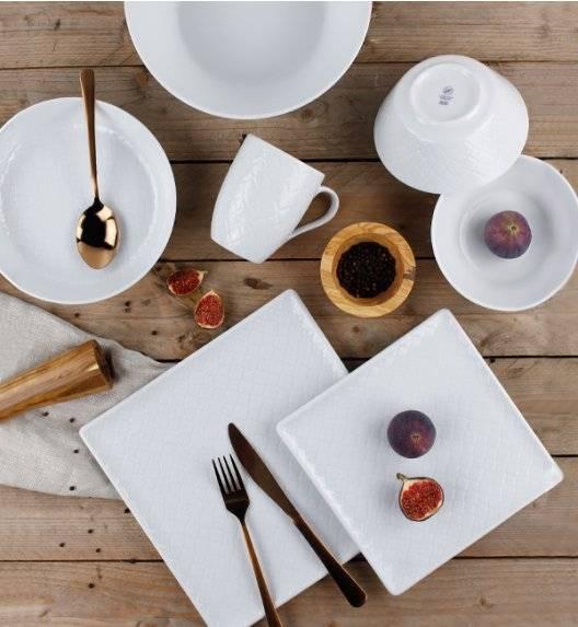 LUBIANA MARRAKESZ Komplet obiadowy 6 os 27 el / kwadratowy / porcelana
