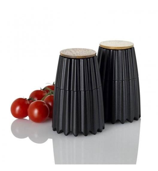 ADHOC MAGTWO Młynek do pieprzu lub soli / drewno bambusowe