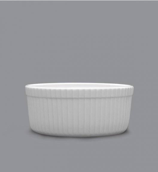 LUBIANA AMERYKA 18 x Czarka / salaterka z relifem ø 11,5 cm / porcelana
