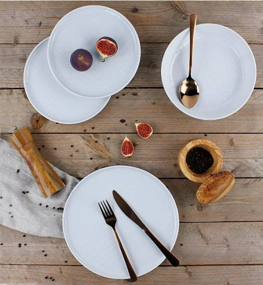 LUBIANA MARRAKESZ Komplet obiadowy 24 os 72 el / okrągły / porcelana