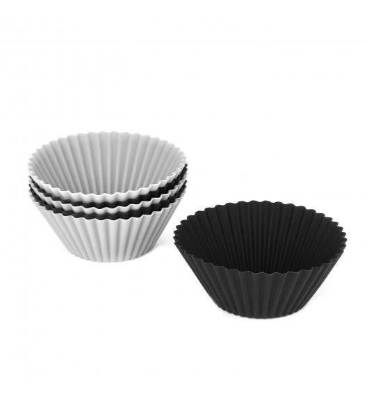 TADAR SILICO Silikonowe foremki do muffinek 7x4 cm / mix kolorów