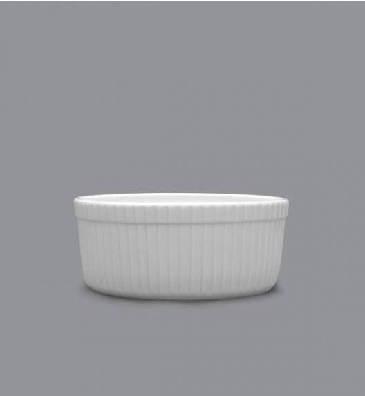 LUBIANA AMERYKA 18 x Czarka / salaterka z reliefem ø 9 cm / porcelana