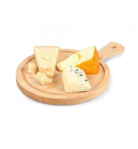 BOSKA AMIGO M Deska do serwowania sera i przekąsek Ø 23,3 cm / drewno bukowe