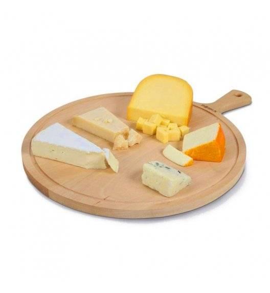 BOSKA AMIGO L Deska do serwowania sera i przekąsek Ø 33 cm / drewno bukowe