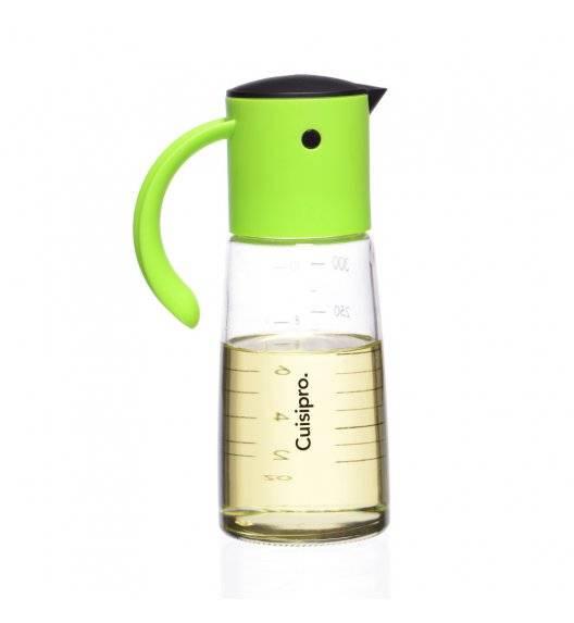 CUISIPRO Dozownik do oleju / octu zielony 300 ml