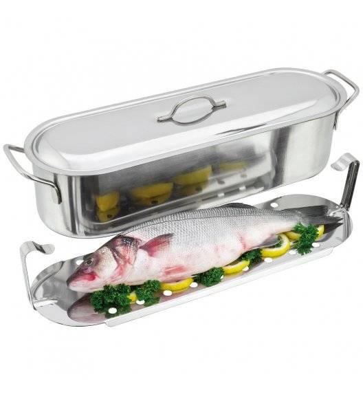 JUDGE Brytfanna do przygotowywania ryby na parze 7,3l / 44 cm