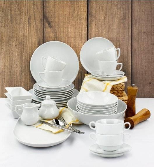 LUBIANA BOSS BEATA Serwis obiadowo - kawowy 95 el / 12 osób / porcelana