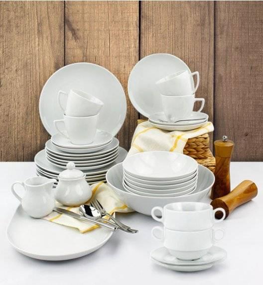 LUBIANA BOSS BEATA Serwis obiadowo - kawowy 92 el / 12 osób / porcelana