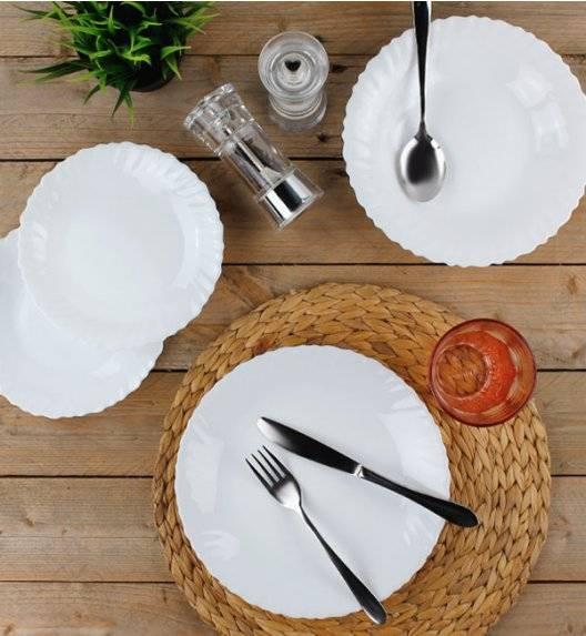PROMOCJA! LUMINARC F-N Komplet obiadowy 54 el dla 18 os / szkło hartowane / 10725