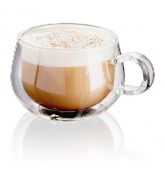 JUDGE Zestaw 2 filiżanek do cappuccino o podwójnych ściankach / 225 ml