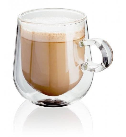JUDGE Zestaw 2 filiżanek do latte o podwójnych ściankach / 275 ml  / wysoka