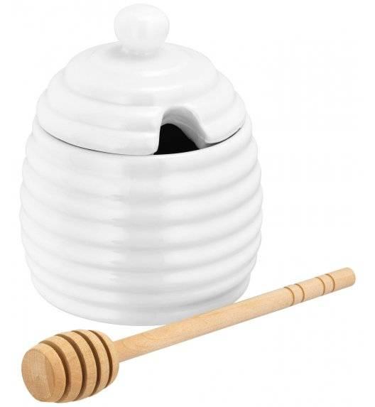 JUDGE TABLE ESSENTIALS Pojemnik na miód 200 ml z łyżeczką