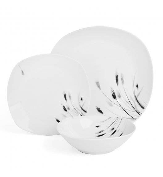 TADAR MISKANT Serwis obiadowy 18 elementów dla 6 osób / ceramika