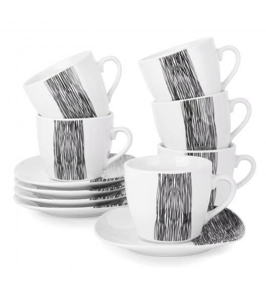 TADAR HOSTE Serwis kawowy 12 elementów dla 6 osób / ceramika