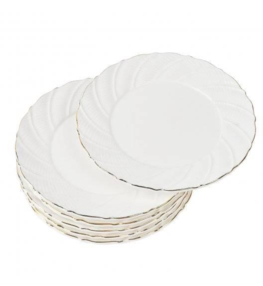TADAR SONATA Komplet 6 Talerzy deserowych 17,5 cm / Porcelana