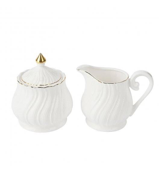 TADAR SONATA Komplet cukiernica + mlecznik / porcelana