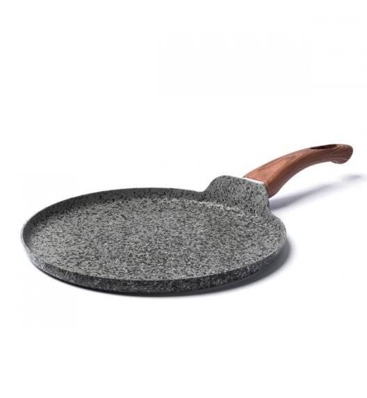 KONIGHOFFER VENGA Patelnia do naleśników granitowa / Ø 28 cm / aluminium, tworzywo sztuczne