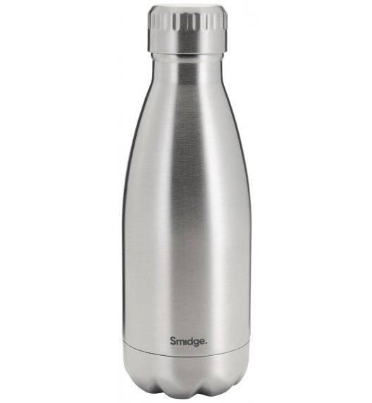 SMIDGE Butelka termiczna 325 ml Steel / stal nierdzewna / stalowa