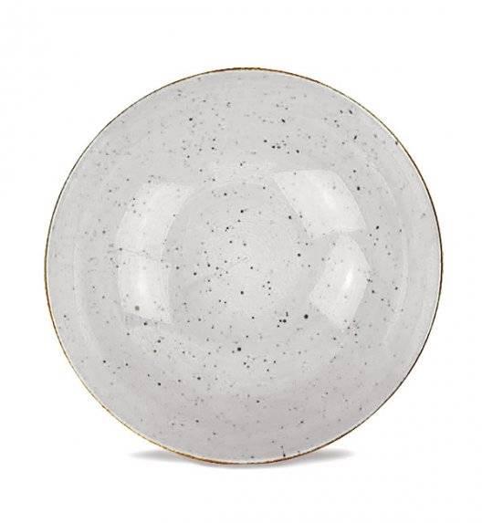LUBIANA BOSS 6630Z Salaterka 21 cm / szara / porcelana ręcznie malowana