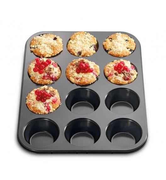 KUCHENPROFI Forma do 12 muffinek / powłoka nieprzywieralna