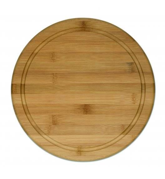 KELA KATANA Deska do krojenia z drewna bambusowego ⌀ 30 cm