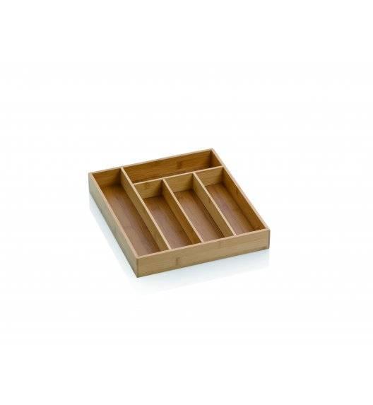 KELA Bambusowy wkład do szuflady na sztućce 30 x 34 x 5 cm