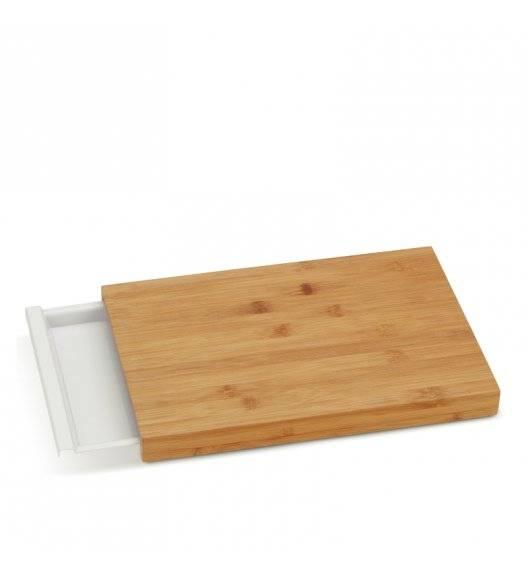 KELA KLARA Deska do krojenia z szufladką / drewno bambusowe