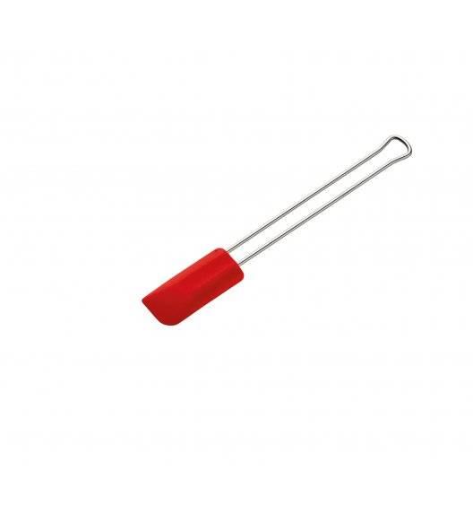 KUCHENPROFI Łopatka silikonowa mała 20 cm / czerwona