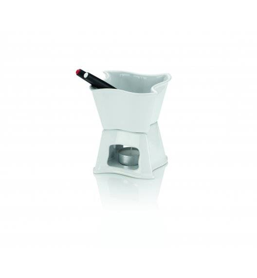KELA ALVA Zestaw do fondue czekoladowego 300 ml / ceramika