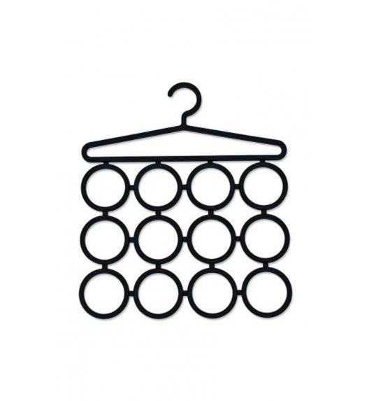 ZELLER Wieszak na krawaty 21 x 40 cm / paski / apaszki / tworzywo sztuczne