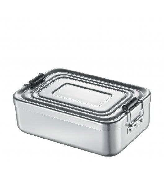 KUCHENPROFI Pojemnik na lunch 23x15x7 cm, srebrny / FreeForm