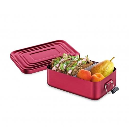 KUCHENPROFI Pojemnik na lunch 18 x 12 x 6 cm, czerwony matowy / FreeForm