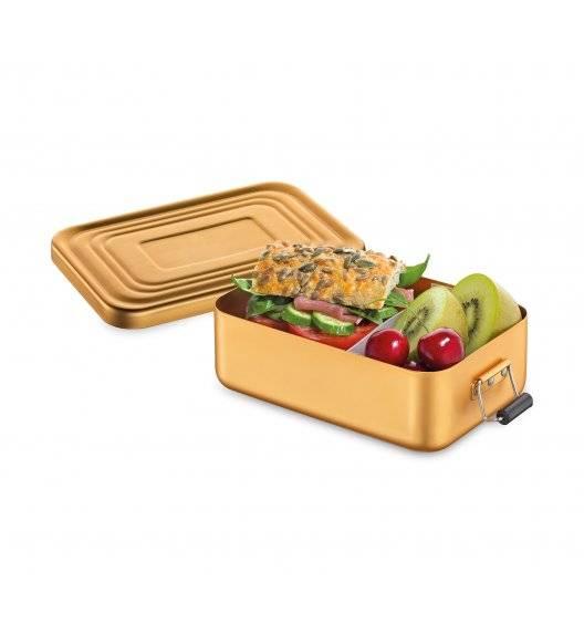 KUCHENPROFI Pojemnik na lunch 18 x 12 x 6 cm, złoty matowy / FreeForm