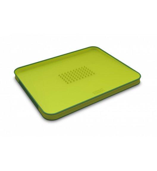 JOSEPH JOSEPH Cut&Carve Deska do krojenia 37,5 cm / zielona / tworzywo sztuczne