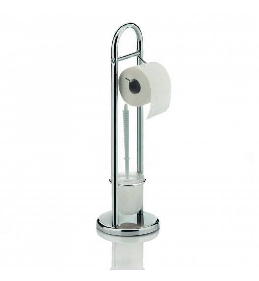 KELA FABIO Zestaw toaletowy z drążkiem na papier toaletowy