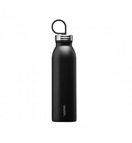 ALADDIN Butelka termiczna 550 ml / czarna / stal nierdzewna