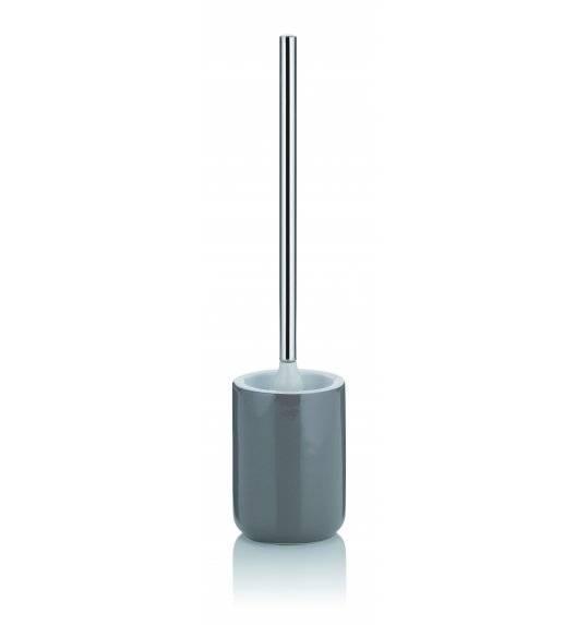 KELA ISABELLA Ceramiczny zestaw do WC ⌀ 10,5 cm / szary