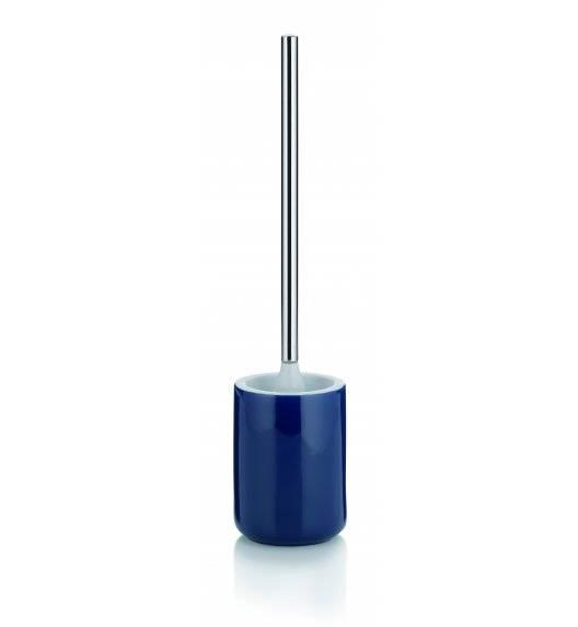 KELA ISABELLA Ceramiczny zestaw do WC ⌀ 10,5 cm / granatowy
